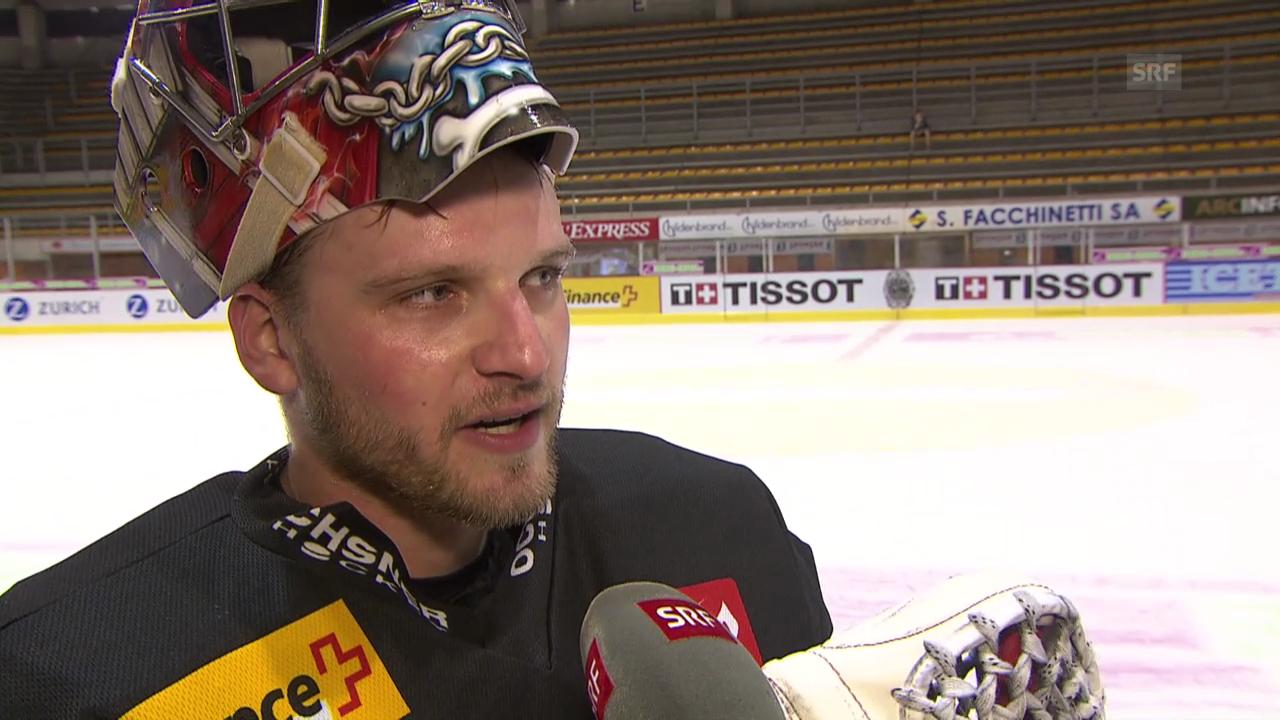 Eishockey, WM-Vorbereitung, Interview mit Robert Mayer