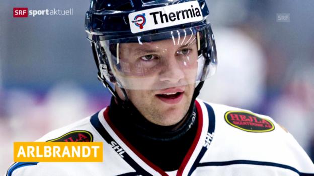Video «Eishockey: Biel verpflichtet Pär Arlbrandt («sportaktuell»)» abspielen