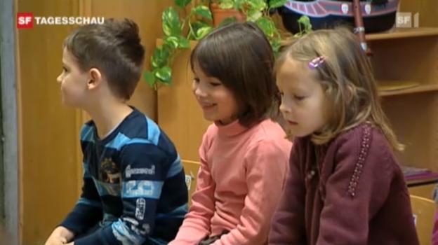 Video ««Mundart» im Kindergarten» abspielen