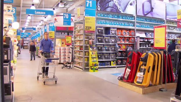 Video «Baumärkte im Test: Wer bietet Service und Qualität?» abspielen