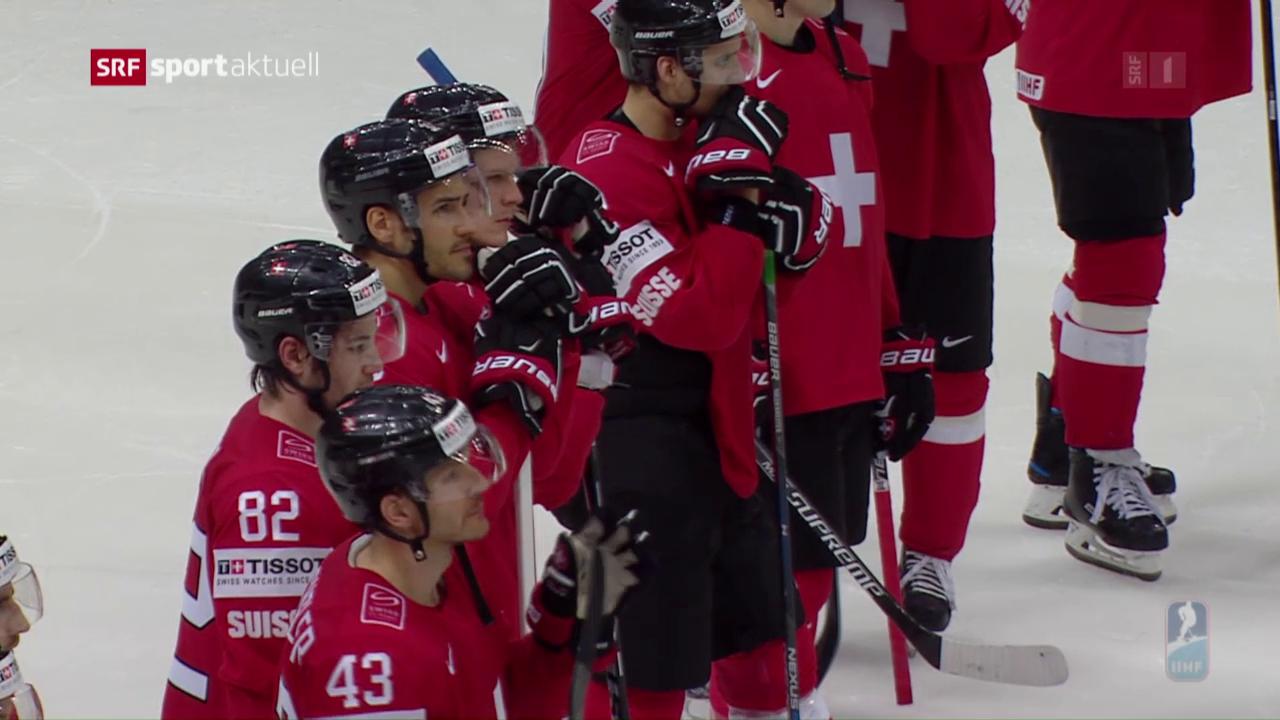 Schweiz mit WM-Fehlstart gegen Kasachstan