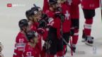 Video «Schweiz mit WM-Fehlstart gegen Kasachstan» abspielen