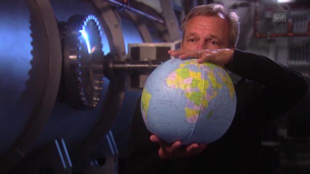 Video «Wie werden Gravitationswellen gemessen? Karsten Danzmann erklärt» abspielen