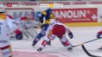 Video «Eishockey: NLA, Davos - EHC Kloten» abspielen