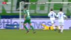 Video «Fussball: FC St. Gallen - Lausanne» abspielen