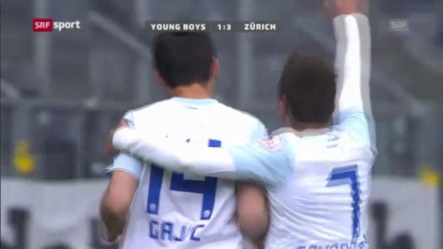 Video «Fussball: Zusammenfassung YB - FC Zürich («sportpanorama»)» abspielen
