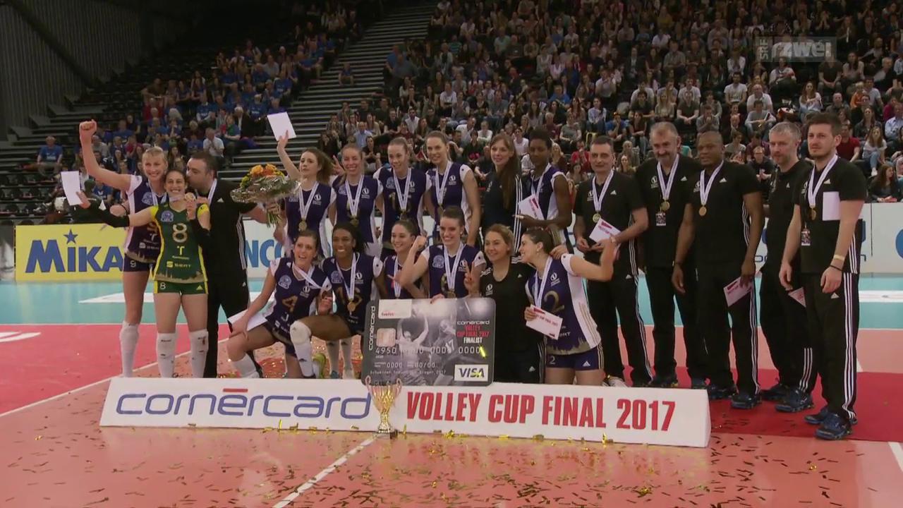 Cuptitel für Volero und Amriswil