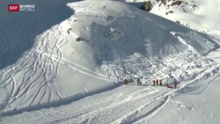 Video «Ermittlungen wegen Lawine auf Piste bei St. Moritz» abspielen