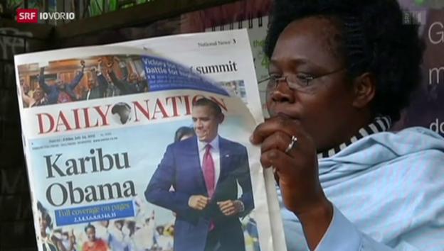 Video «Obama besucht Kenia» abspielen