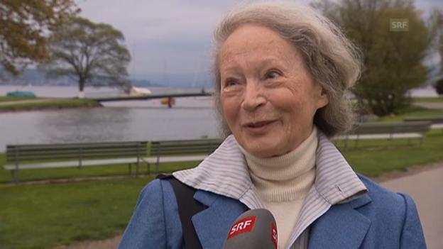 Video «Margrit Läubli über Trudi Gerster» abspielen