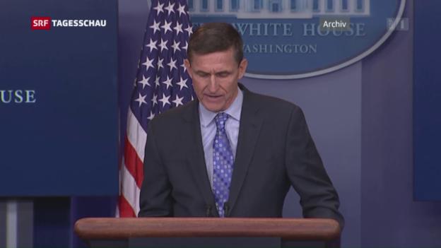 Video «Flynn zum Rücktritt aufgefordert» abspielen