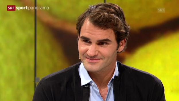 Video «Federer über seine Frau Mirka» abspielen