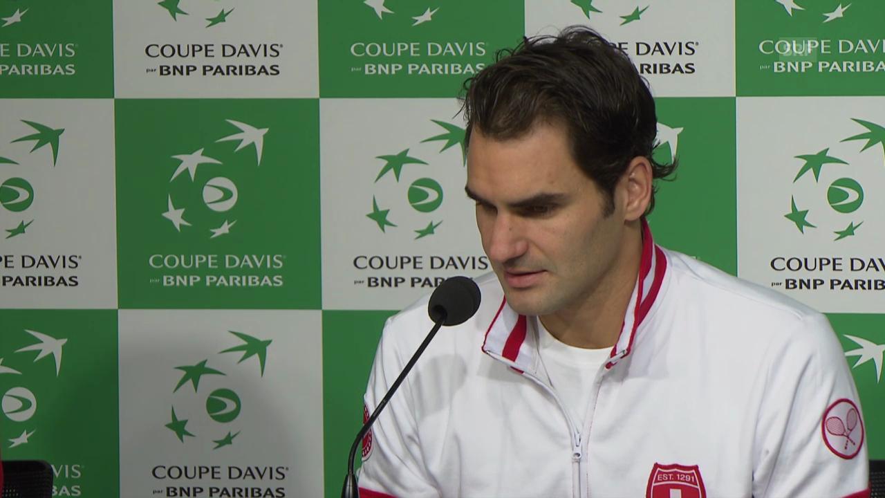 Federer ist bereit für das volle Programm (französisch)