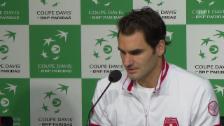 Video «Federer ist bereit für das volle Programm (französisch)» abspielen