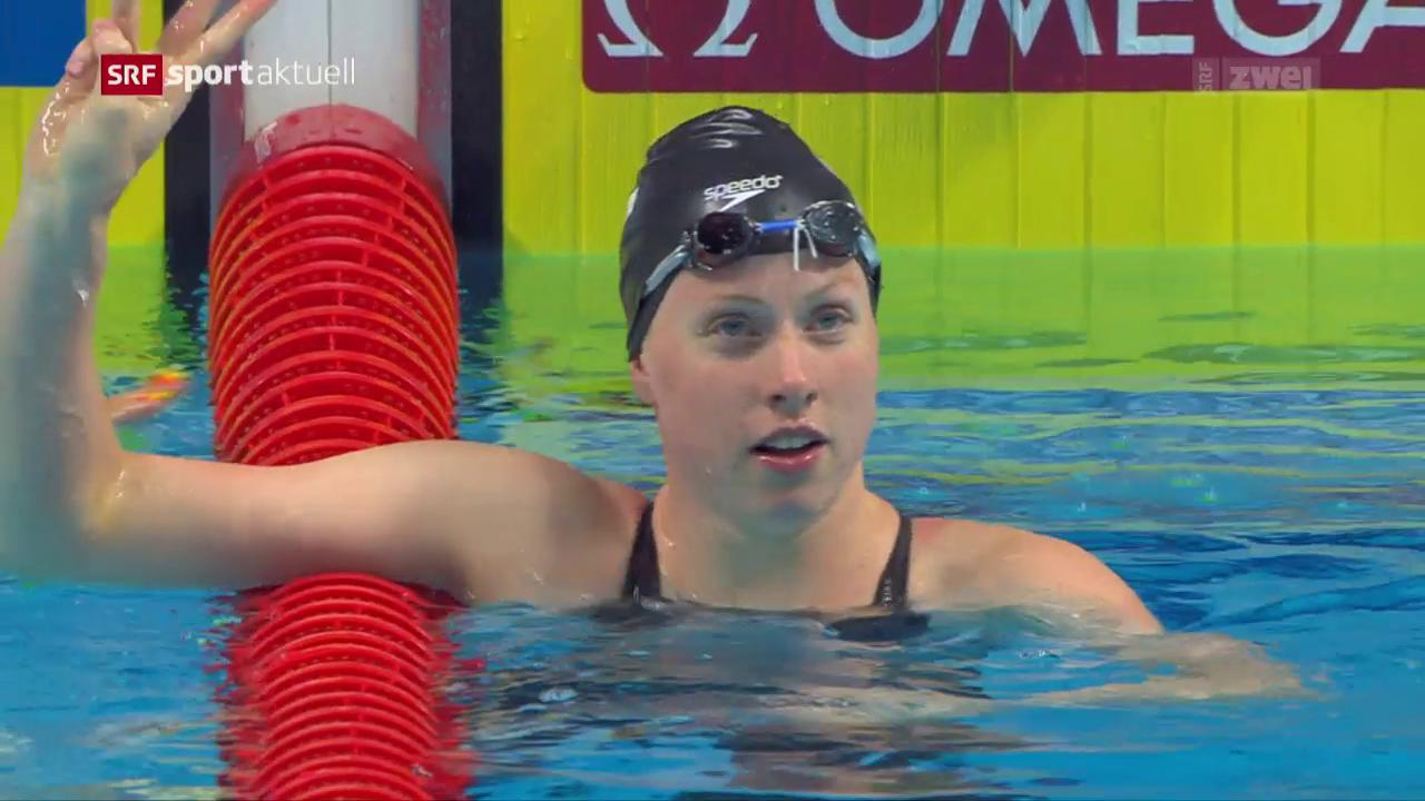 Frauen-Power am letzten Tag der Schwimm-WM