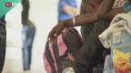 Video «Grossandrang von Flüchtlingen im Tessin» abspielen