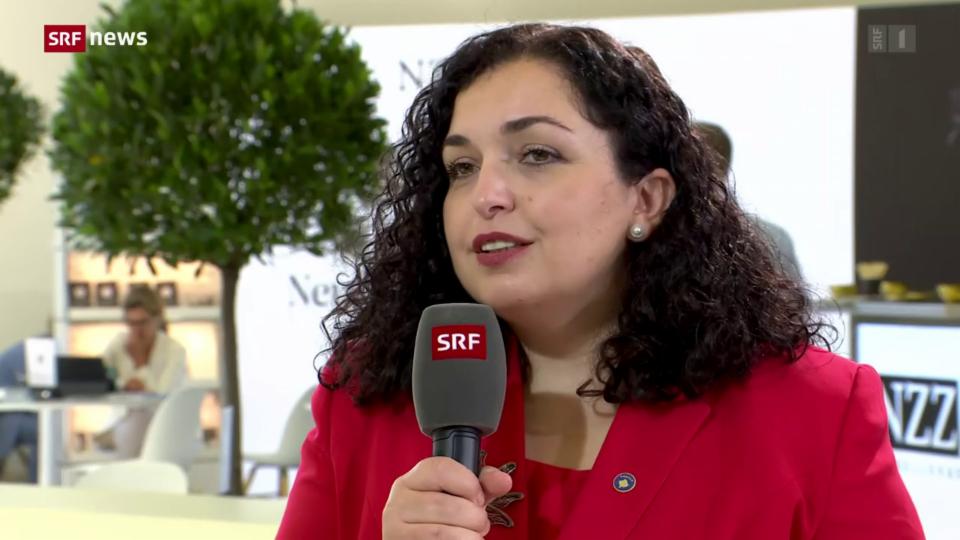 Kosovarische Präsidentin äussert sich zur Tatsache, dass viele Reiserückkehrer hospitalisiert werden müssen