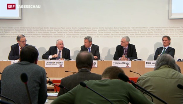 Video «SVP will die Zuwanderung in die Schweiz limitieren» abspielen