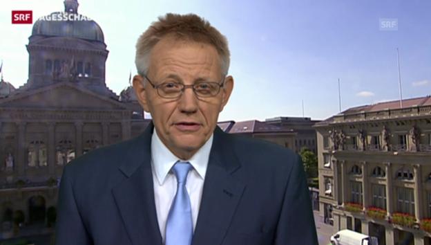 Video «Hanspeter Trütsch: Unterm Strich bleibt kein Plus» abspielen