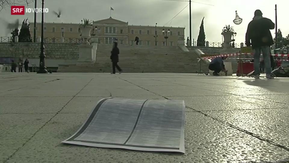 Griechenland tut sich schwer mit Steuersündern