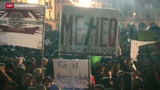 Video «Proteste in Mexiko» abspielen