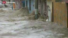 Video «In Mexiko wüten die Tropenstürme «Ingrid» und «Manuel»» abspielen