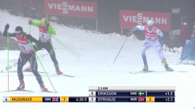 Video «Langlauf: Tour de Ski 2013/14, Prolog» abspielen
