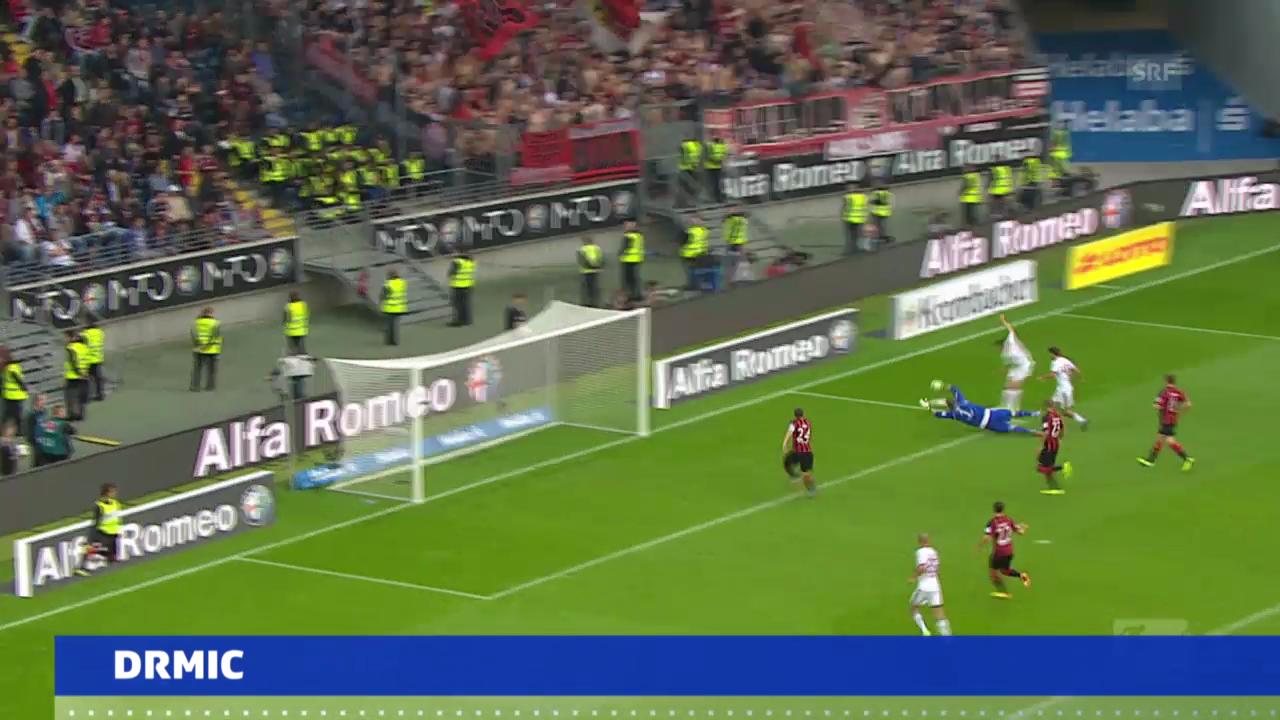 Bundesliga: Das Tor von Josip Drmic