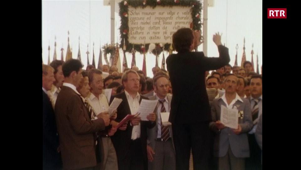 La Festa da chant a Mustér 1980