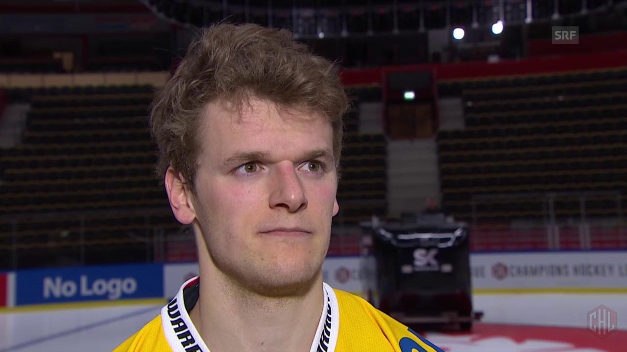 Eishockey: CHL, Interview Genoni