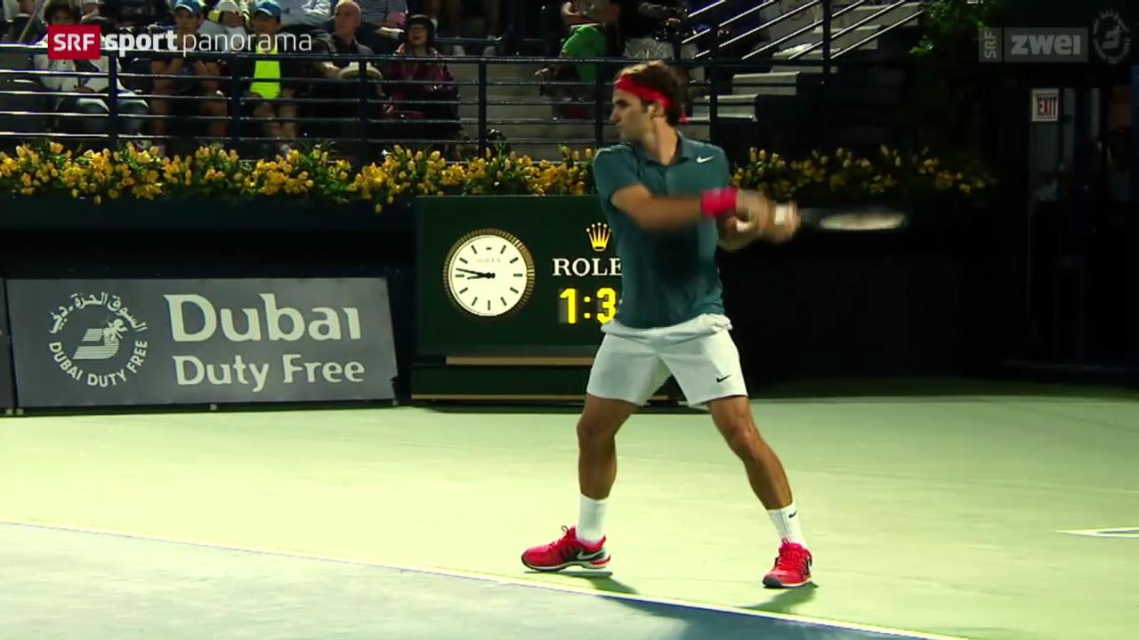Tennis: Federers beste Ballwechsel 2014