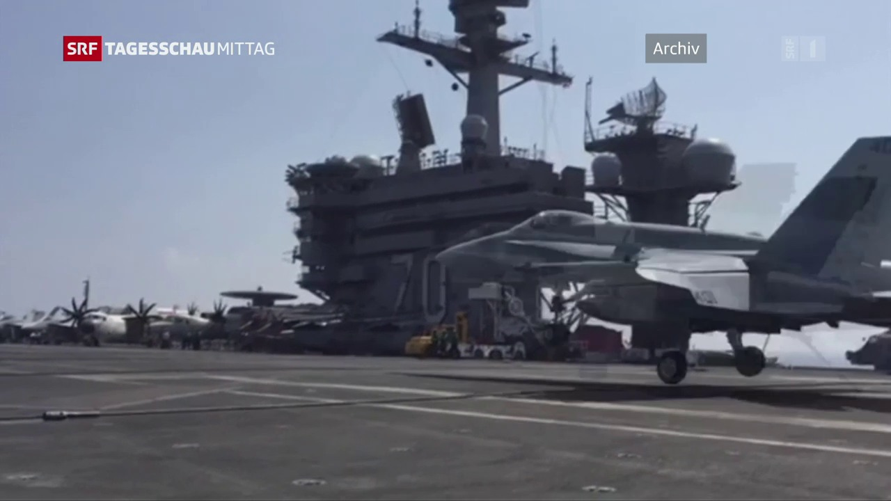 US-Flugzeugträger fährt Richtung Korea