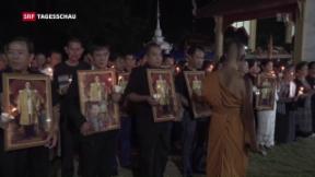 Video «Unsichere Zeiten für Thailand» abspielen