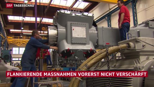 Video «Bundesrat will Flankierende vorerst nicht verschärfen» abspielen
