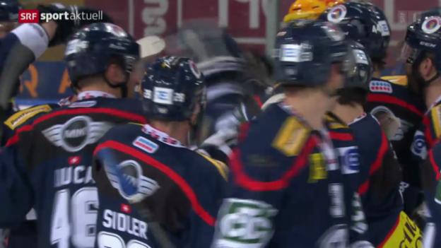 Video «Eishockey: Ambri - Lausanne» abspielen
