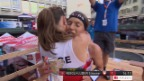 Video «Zieleinlauf von Niggli und Alexandersson («sportlive»)» abspielen