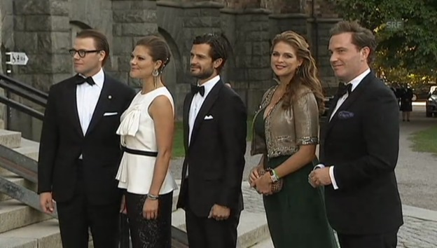 Video «Schwangere Prinzessin Madeleine im Glück» abspielen
