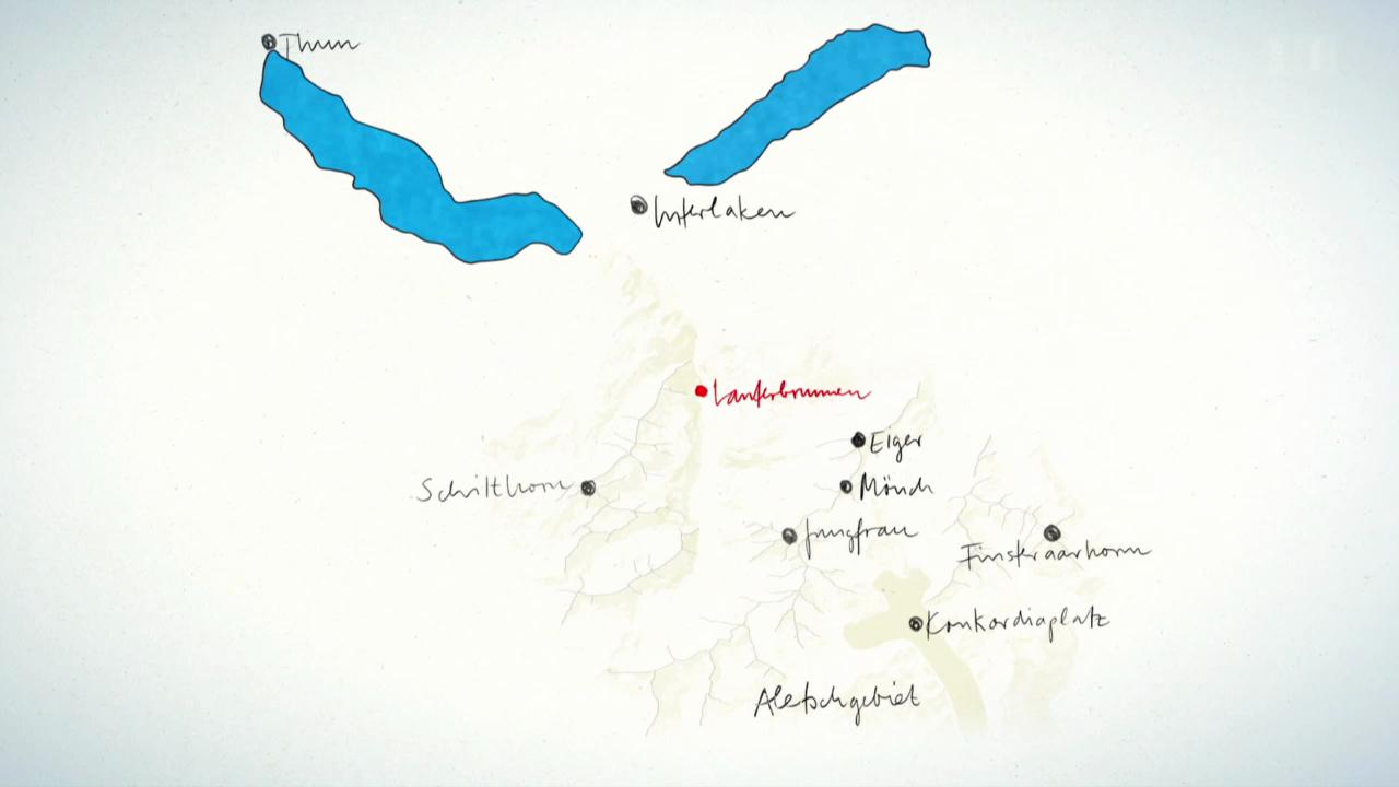 Überblick Lauterbrunnental