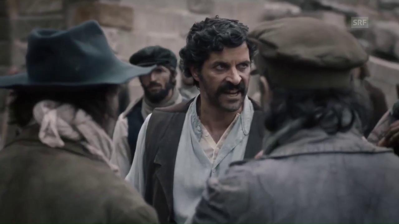 Szene aus «Gotthard»: Pasquale Aleardi als Mineur Tommaso