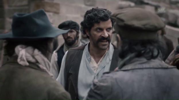 Video «Szene aus «Gotthard»: Pasquale Aleardi als Mineur Tommaso» abspielen