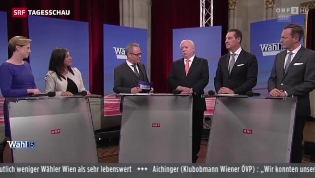 Video «SPÖ bleibt in Wien stärkste Kraft» abspielen