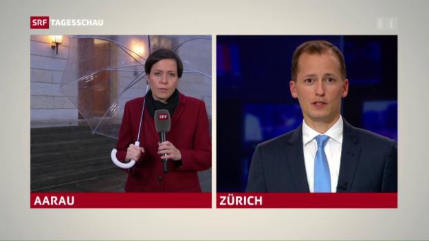 Video «Aargauer SP ist wieder zweitstärkste Kraft» abspielen