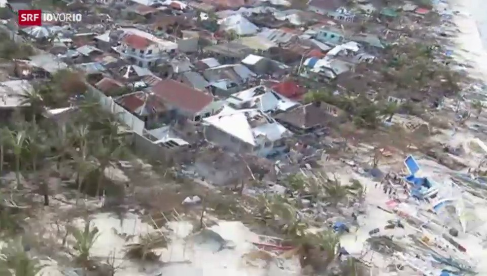 Helfer im Katastrophengebiet