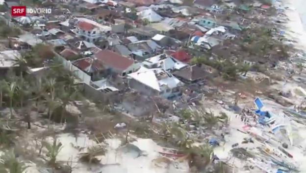 Video «Helfer im Katastrophengebiet» abspielen