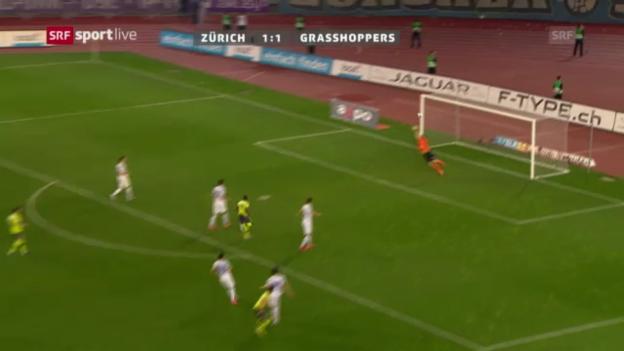 Video «Cup: Halbfinal FCZ - GC» abspielen