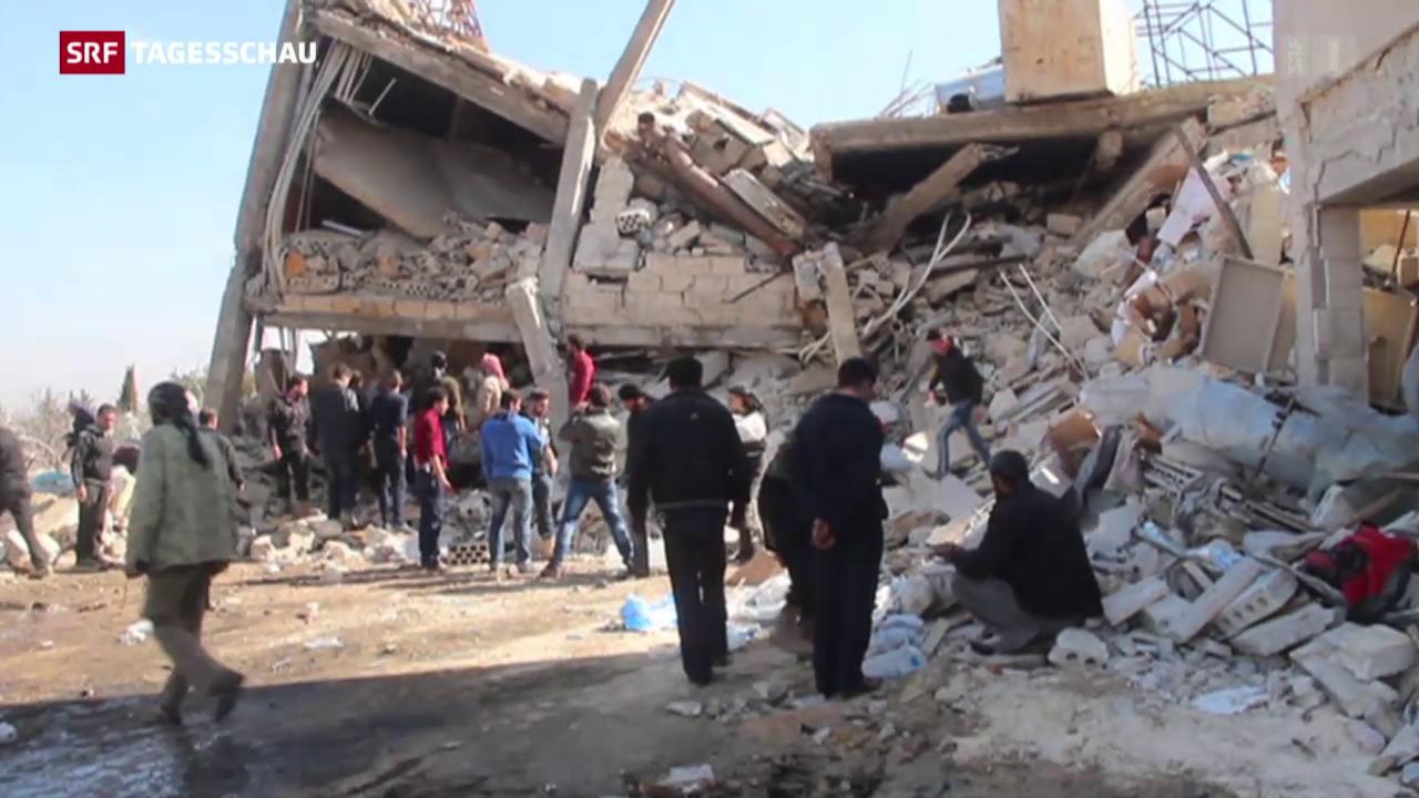 Angriffe auf Wehrlose in Syrien