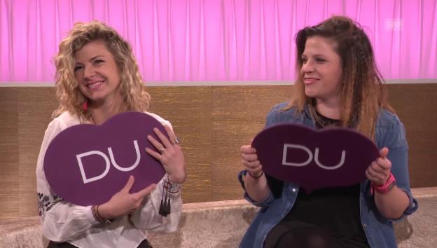 Video ««Ich oder Du»: Eliana und Anina Burki» abspielen