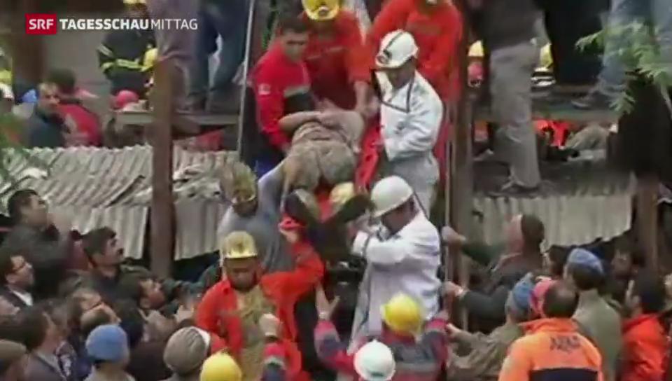 Schwindende Hoffnung nach Grubenunglück in der Türkei