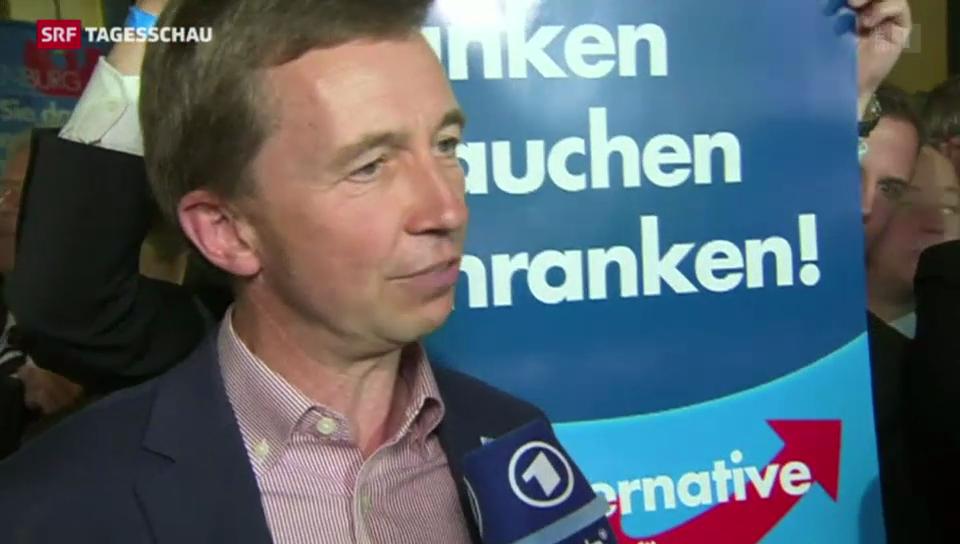 Rechtsnationale AfD zieht in weitere zwei deutsche Landtage ein