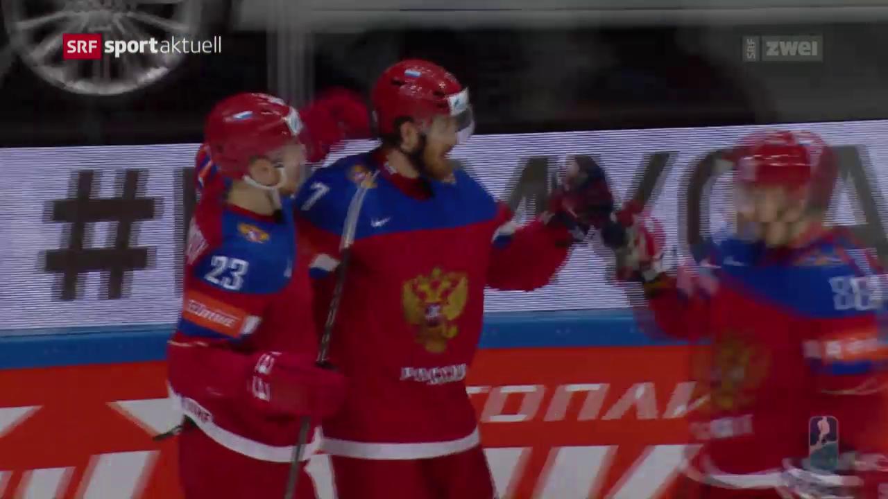 Russland schlägt an der Eishockey-WM Norwegen